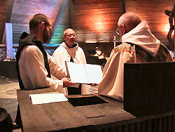 Br_ Gregory-solemn profession-opening prayer