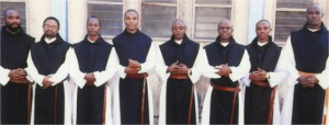The most recent solemn profession at Awhum of monks on November 21, 1916