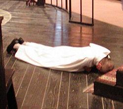 Br_ Gregory-solemn profession-prostration